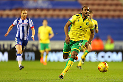 Cameron Jerome of Norwich City - Mandatory by-line: Matt McNulty/JMP - 07/02/2017 - FOOTBALL - DW Stadium - Wigan, England - Wigan Athletic v Norwich City - Sky Bet Championship