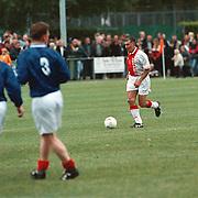 BFC - Ajax oud spelers, Sjaak Swart voetballend