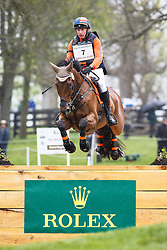 Geven Werner, (NED), Vandiver<br /> Rolex Kentucky Three Day Event CCI4* <br /> Lexington 2015<br /> © Hippo Foto - Libby Law<br /> 26/04/15