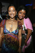 l to r: Gabrielle Glore and Jocelyn Cooley at The 2008 Urbanworld Film Festival and BET Networks Afterparty saluting Fashion & Film at Espace on September 13, 2008