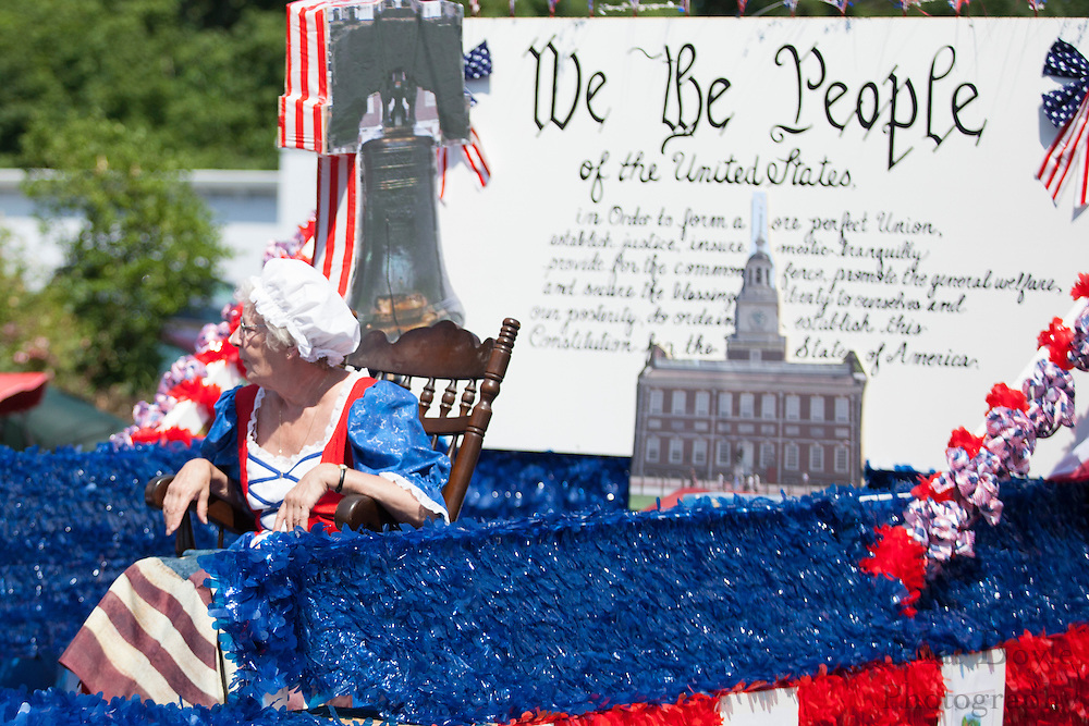Pitman Manor: Pitman 4th of July Parade down Broadway in Pitman NJ on Wednesday July 4, 2012. (photo / Mat Boyle)