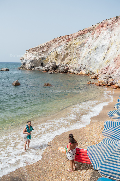 Greece, Kyklades, Milos, Paliochori beach