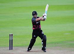 Jim Allenby of Somerset in action.  - Mandatory by-line: Alex Davidson/JMP - 15/07/2016 - CRICKET - Cooper Associates County Ground - Taunton, United Kingdom - Somerset v Middlesex - NatWest T20 Blast