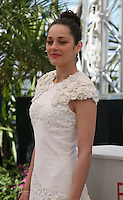 Actress Marion Cotillard at The Immigrant Film Photocall Cannes Film Festival On Friday 24th May May 2013