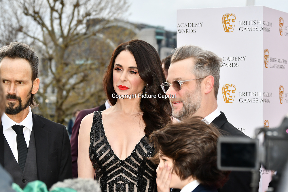 Danielle Bisutti is an American actress Arrivers at the British Academy (BAFTA) Games Awards at Queen Elizabeth Hall, Southbank Centre  on 4 March 2019, London, UK.