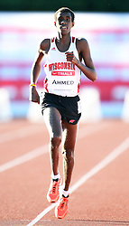 2012 Canadian Track & Field Trials - Calgary, Alberta - June 27, 2012 - Day One - Mohammed Ahmed competes in the 10,000m  at the 2012 Canadian Track and Field Olympic Trials in Calgary, Alberta, June 27, 2012..Claus Andersen/ Claus Andersen Photography/ Mundo Sport Images