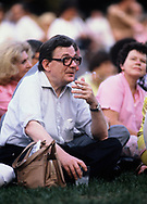 Lane Kirkland, AFL CIO at a Labor Day picnic on the South Lawn of the White House in September 1980<br /> Photo by Dennis Brack<br /> <br /> by Dennis Brack