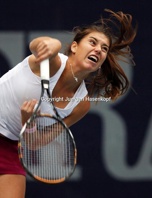 Generali Ladies Linz Open 2010,WTA Tour, Damen.Hallen Tennis Turnier in Linz, Oesterreich,.Sorana Cirstea (ROU)