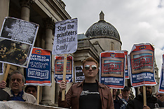 20 May 2015 - National Gallery staff strike against Privatisation and sacking of Candy Udwin.