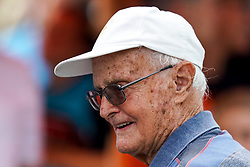 "Marko Racic of Slovenia, oldest living Slovenian Olympic athlete, during 43rd International Swimming meeting ""Telekom 2019"", on July 13, 2019 in Radovljica, Slovenia. Photo by Matic Klansek Velej / Sportida"