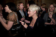 Pearl Lowe; Jaime Winstone, Criterion Restaurant  celebrates its 135th anniversary. Piccadilly Circus. London. 2 February 2010