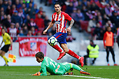 FOOTBALL - SPANISH CHAMP - ATLETICO MADRID v CELTA VIGO 110318