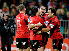 Christchurch-Rugby, Super 15, Crusaders v Force