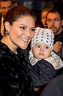 16-12-2016 MILAN ITALY - arrival at the train station with oscar VISIT AT CONCEPT STORE FRIP The Crown Princess Couple and Minister for Upper Secondary School and Adult Education and Training Anna Ekström will participate at the Swedish-Italian Chamber of Commerce Assosvezia's yearly Lucia reception. The Crown Princess Couple's Princess Victoria and Prince Daniel visit to Rome and Milan, Italy, December 15-17  COPYRIGHT ROBIN UTRECHT