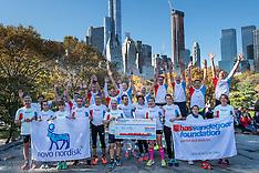 20161105 USA: NYC Marathon We Run 2 Change Diabetes day 2, New York