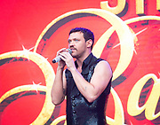 West End Live 2018 <br /> Trafalgar Square, London, Great Britain <br /> 16th June 2018 <br /> <br /> Excerpts from West End musicals perform live on stage in Trafalgar Square, London <br /> <br /> Will Young <br /> In Strictly Ballroom <br /> <br /> Photograph by Elliott Franks