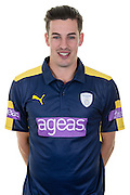 Hampshire all-rounder Chris Wood in the 2016 Royal London One Day Cup Shirt. Hampshire CCC Headshots 2016 at the Ageas Bowl, Southampton, United Kingdom on 7 April 2016. Photo by David Vokes.