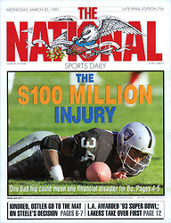 Bo Jackson, The National Sports Daily, 1991