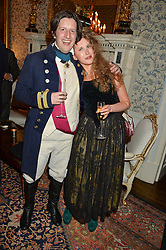 PHILIP WOMACK and FREYA WOOD at the Tatler Best of British party in association with Jaegar held at The Ritz, Piccadilly, London on 28th April 2015.