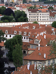 CZECH REPUBLIC PRAGUE 15JUN13 - Rooftops of Prague's inner city, seen from Hradcany castle.<br /> <br /> <br /> <br /> jre/Photo by Jiri Rezac<br /> <br /> <br /> <br /> &copy; Jiri Rezac 2013