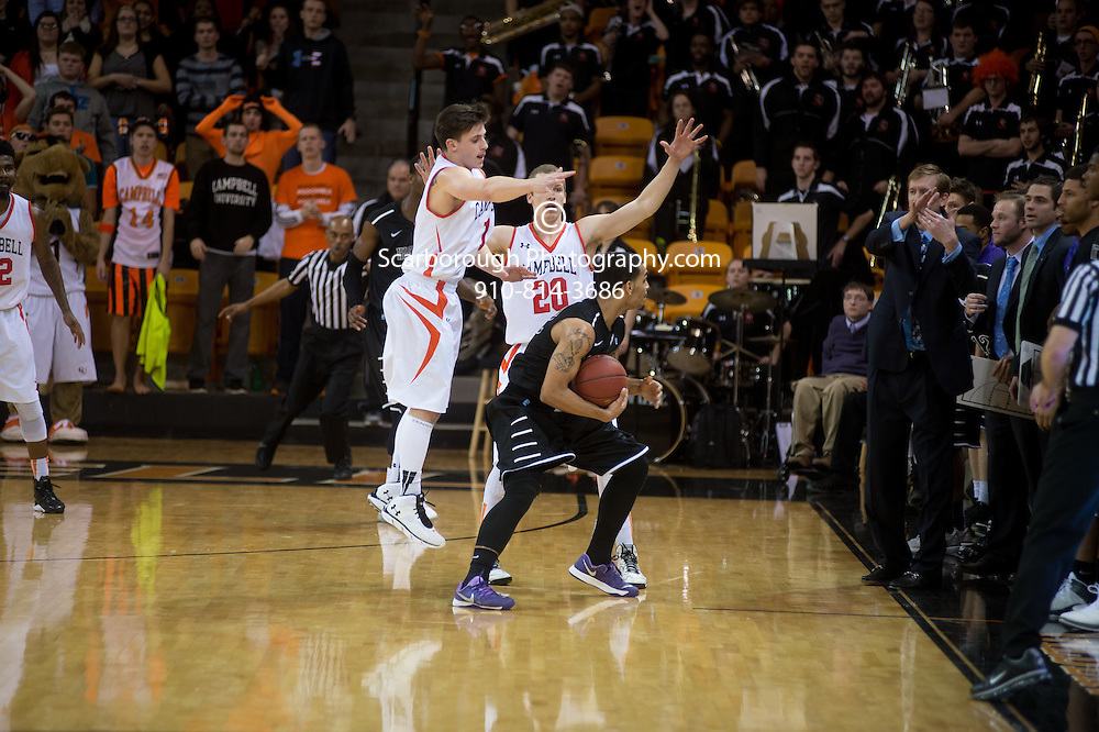 Jan 8, 2014; Buies Creek, NC, USA; High Point  vs Campbell Fighting Camels at Gilbert Craig Gore arena.  Mandatory Credit: Bennett Scarborough\Scarborough Photography