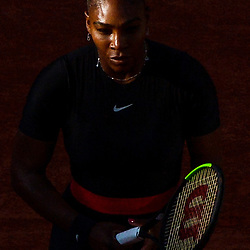 Serena Williams of USA during Day 5 for the French Open 2018 on May 31, 2018 in Paris, France. (Photo by Baptiste Fernandez/Icon Sport)