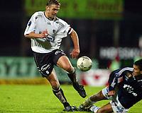 Fotball, 22. september 2003, Tippeligaen,  Sogndal-Viking 2-2, Håvard Flo, Sogndal