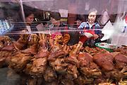 Namdaemun Market. Pigs' legs.
