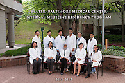 Annual Internal Medicine Residency Program Year End Photo