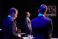 EIGEN<br /> <br /> DEN HAAG, 23 januari 2017.<br /> Haagsch College inzet Paard van Troje met Lodewijk Asscher, minister van Sociale Zaken, vice-premier en lijsttrekker van de PvdA.<br /> FOTO MARTIJN BEEKMAN