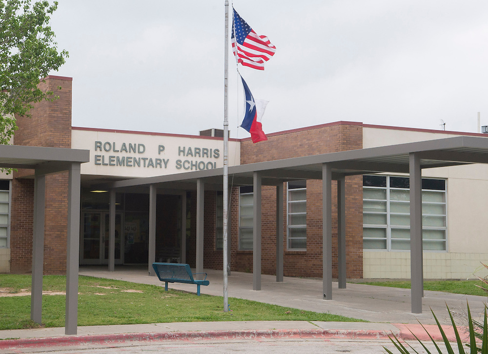 Roland P Harris Elementary, April 18, 2013. The school was part of the 2007 bond.