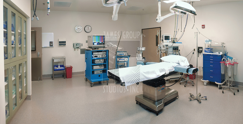 empty operating room in hospital