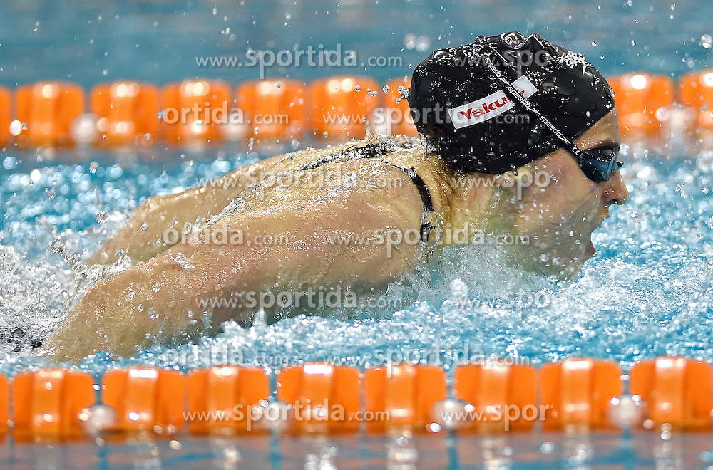 02-04-2015 NED: Swim Cup, Eindhoven<br /> Nastja Govejsek SLO 100m butterfly<br /> Photo by Ronald Hoogendoorn / Sportida