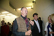 Thomas  Hšegh and Anthony Wilkinson,  Opening of new  Wilkinson gallery. Vyner St. London. E2. Party afterwards at Bistrotheque. 6 September 2007. -DO NOT ARCHIVE-© Copyright Photograph by Dafydd Jones. 248 Clapham Rd. London SW9 0PZ. Tel 0207 820 0771. www.dafjones.com.