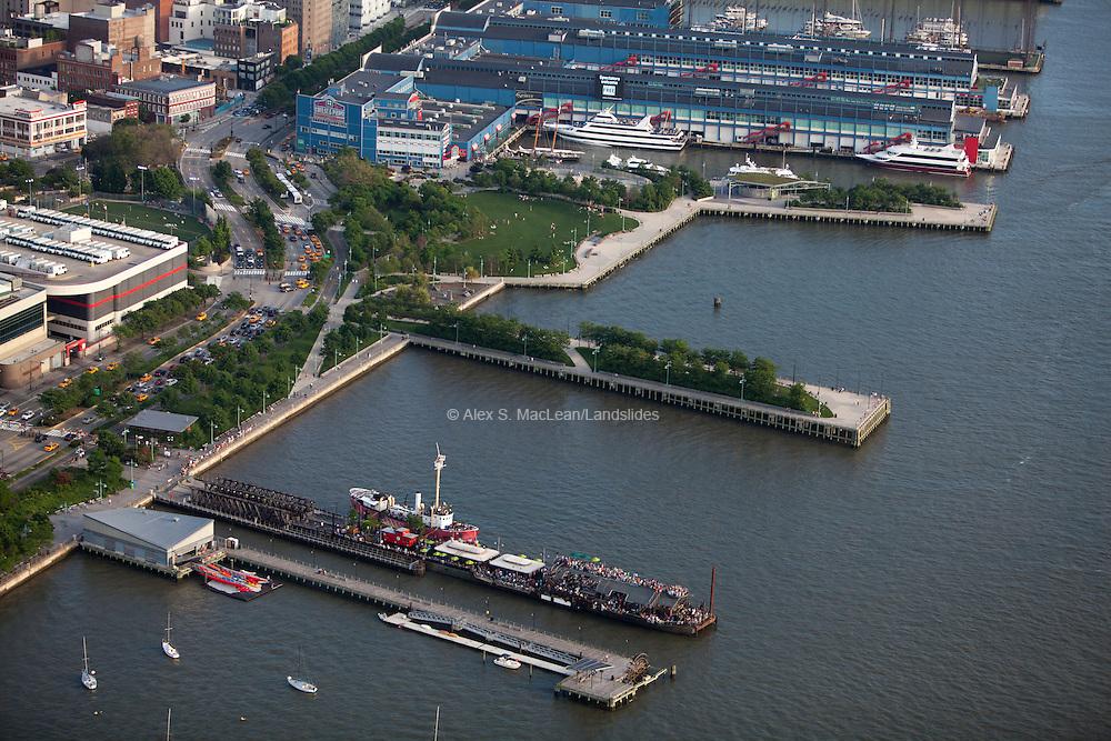 Hudson River Park designed by Michael Van Valkenburgh Associates