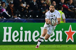 Clermont Auvergne's Scott Spedding in action - Mandatory by-line: Craig Thomas/JMP - 15/10/2017 - RUGBY - Liberty Stadium - Swansea, Wales - Ospreys Rugby v Clermont Auvergne - European Rugby Champions Cup