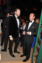 Left to right, LORD EDWARD SPENCER-CHURCHILL and ROBERT HANSON at the Raisa Gorbachev Foundation Gala held at the Stud House, Hampton Court, Surrey on 22nd September 22 2011