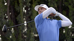 September 13, 2017 - U.S. - SPORTS -- Sam Saunders of Albuquerque tees off on the 2 hole during the New Mexico Open golf tournament on Wednesday, September 13, 2017. (Credit Image: © Greg Sorber/Albuquerque Journal via ZUMA Wire)