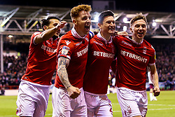 Jack Colback of Nottingham Forest celebrates with teammates after scoring a goal to make it 1-0 - Mandatory by-line: Robbie Stephenson/JMP - 13/03/2019 - FOOTBALL - The City Ground - Nottingham, England - Nottingham Forest v Aston Villa - Sky Bet Championship