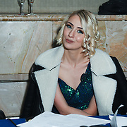 Olga Kravchenko is a production manager of the Grand Final MISS USSR UK 2019 at Hilton hotel London on 27 April 2019, London, UK.