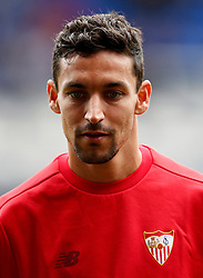 Jesus Navas of Sevilla - Mandatory by-line: Matt McNulty/JMP - 06/08/2017 - FOOTBALL - Goodison Park - Liverpool, England - Everton v Sevilla - Pre-season friendly