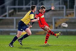 Bristol Rugby replacement Adrian Jarvis in action - Mandatory byline: Rogan Thomson/JMP - 13/11/2015 - RUGBY UNION - Kingspan Stadium - Belfast, Northern Ireland - Ulster Ravens v Bristol Rugby - The British & Irish Cup Pool 2.