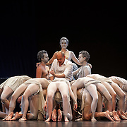 Edinburgh International Festival (EIF). Don Giovanni (Opera) by Wolfgang Amadeus Mozart. Conducted by Iv&agrave;n Fischer. Christopher Maltman as Don Giovanni with students of the Budapest Acting Academy. Festival Theatre, Edinburgh.  08 Aug 2017. Edinburgh. Credit: Photo by Tina Norris. Copyright photograph by Tina Norris. Not to be archived and reproduced without prior permission and payment. Contact Tina on 07775 593 830 info@tinanorris.co.uk  <br /> www.tinanorris.co.uk
