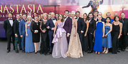 2019, August 13. Grand Hotel Amrath Kurhaus, Scheveningen, The Netherlands. The cast at the  state banquet to celebrate the start of the rehearsals for the Anastasia musical.
