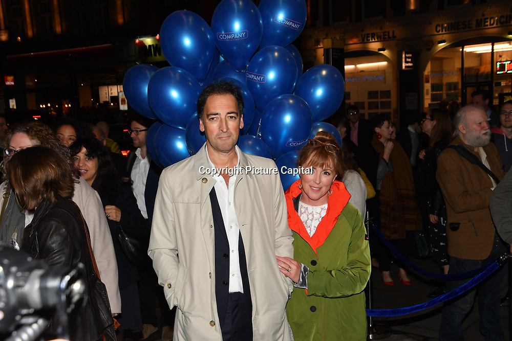 Alistair McGowan attend the Company - Opening Night at Gielgud Theatre, London, UK. 17 October 2018.