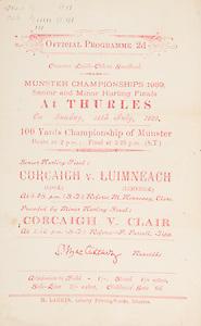 Munster Senior and Minor Hurling Championship Finals,.30.07.1939, 07.30.1939, 30th July 1939,.Senior Cork v Limerick,.Minor Cork v Clare,..