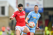 Swindon Town Defender, Raphael Rossi Branco during the EFL Sky Bet League 1 match between Swindon Town and Bolton Wanderers at the County Ground, Swindon, England on 8 October 2016. Photo by Adam Rivers.