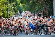 Philadelphia Naked Bike Ride, 2017.