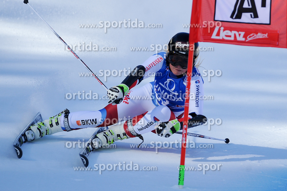 28.12.2015, Hochstein, Lienz, AUT, FIS Weltcup Ski Alpin, Lienz, Riesenslalom, Damen, 1. Durchgang, im Bild Lara Gut (SUI) // Lara Gut of Switzerland during 1st run of ladies Giant Slalom of the Lienz FIS Ski Alpine World Cup at the Hochstein in Lienz, Austria on 2015/12/28. EXPA Pictures © 2015, PhotoCredit: EXPA/ Erich Spiess