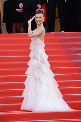 May 16, 2019 - WORLD RIGHTS.Cannes, France, 16.05.2019, 72th Cannes Film Festival in Cannes. The 72th edition of the film festival will run from May 14 to May 25. .Red carpet ''Rocketman''.NZ.  Bella Hadid .Fot. Radoslaw Nawrocki/FORUM (FRANCE - Tags: ENTERTAINMENT; RED CARPET) (Credit Image: © FORUM via ZUMA Press)